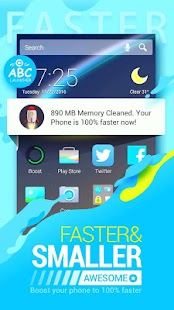 ABC Launcher - Theme,Wallpaper Screenshot