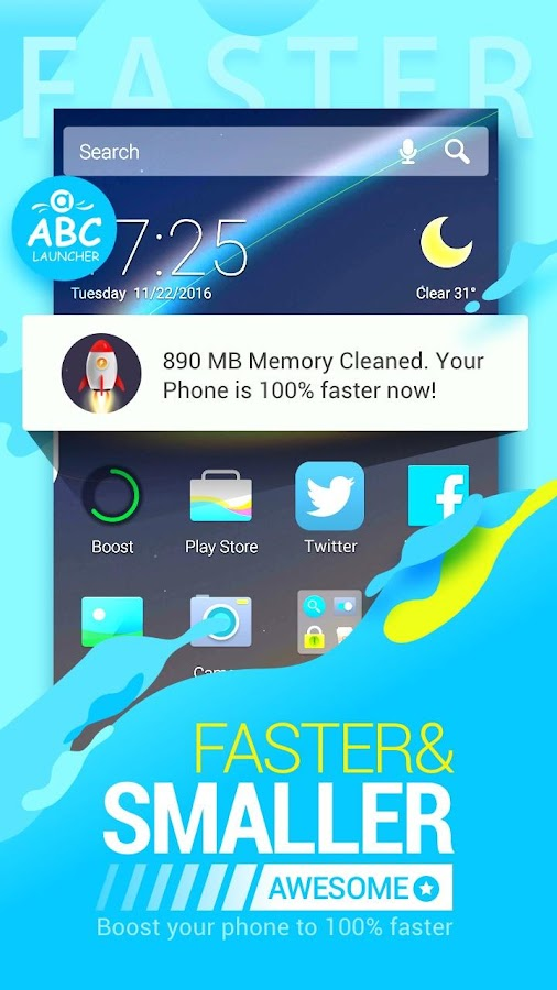 Abc launcher theme wallpaper android apps on google play for Wallpaper home launcher