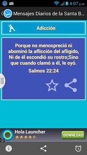 Mensajes Diarios Santa Biblia screenshot 3