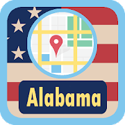 USA Alabama Maps