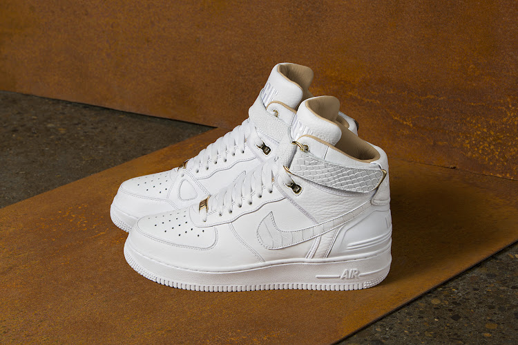 94695d051de0 Nike celebrates 35 years of the iconic white Air Force 1