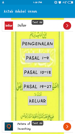 Kitab Adabul Insan screenshot 7