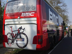 Photo: This is what the sponsorship buys, Amstel Gold