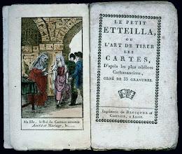 Photo: Mielőtt Mlle Lenormand megalkotta a saját jóskártyáit a Le Petit Eteilla kártyákat használta * Le Petit Lenormand e kártya sorozat későbbi változata: https://picasaweb.google.com/ciganykartya7/LePetitOracleDesDames?authuser=0&feat=directlink