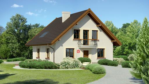 projekt Dom przy Cyprysowej 42