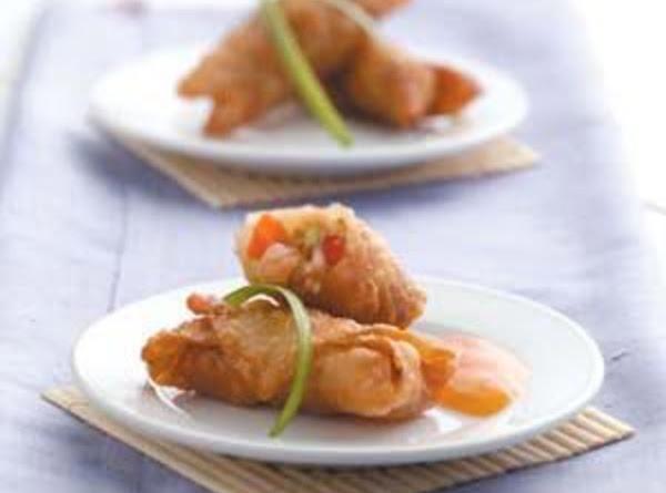 Veggie Shrimp Egg Rolls Recipe
