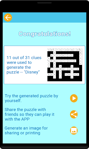 Wordapp: Crossword Maker  screenshots 5