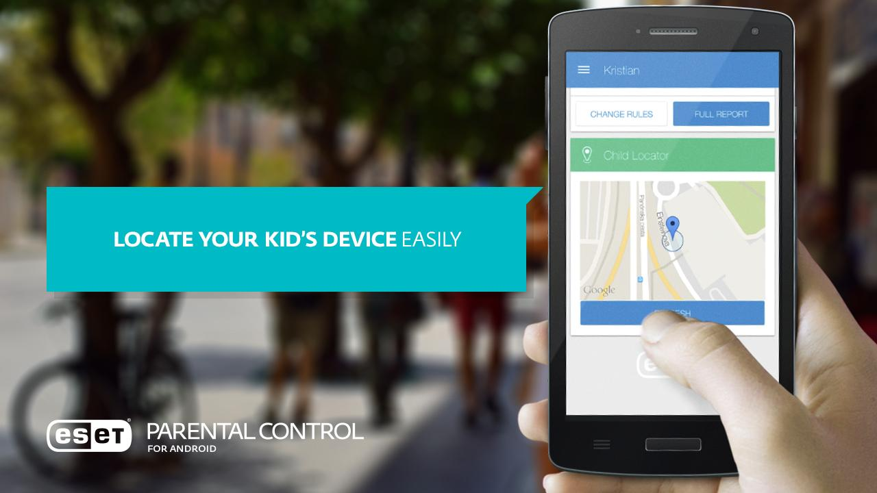 ESET Parental Control- screenshot