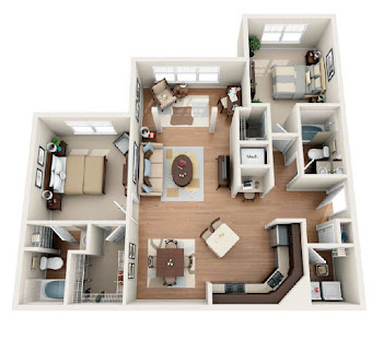 Go to The Leconte Floorplan page.