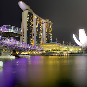Marina Bay Sand @ Singapore by Bryan Sin - Buildings & Architecture Public & Historical