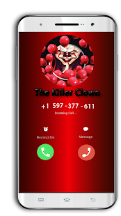 Call from Pennywise The killer clown PKC - náhled