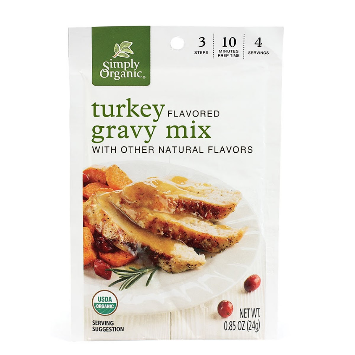 Roasted Turkey Flavored Gravy Mix