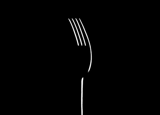 The light sight of the fork di LaMony