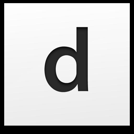 Deletter 社交 LOGO-玩APPs