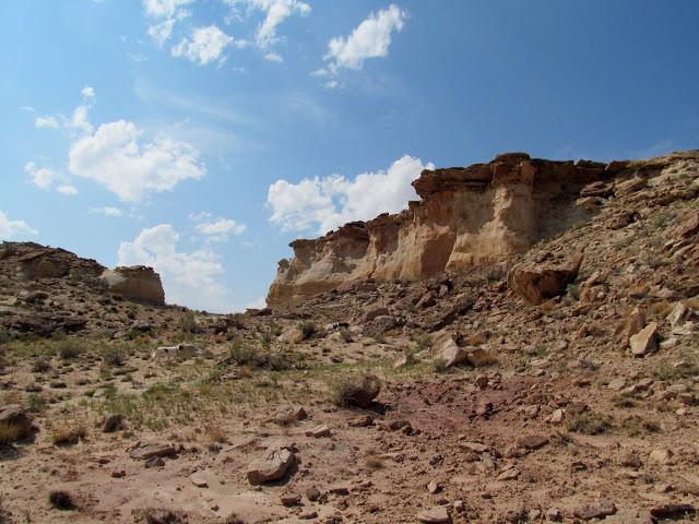 Approaching Eagle Rock