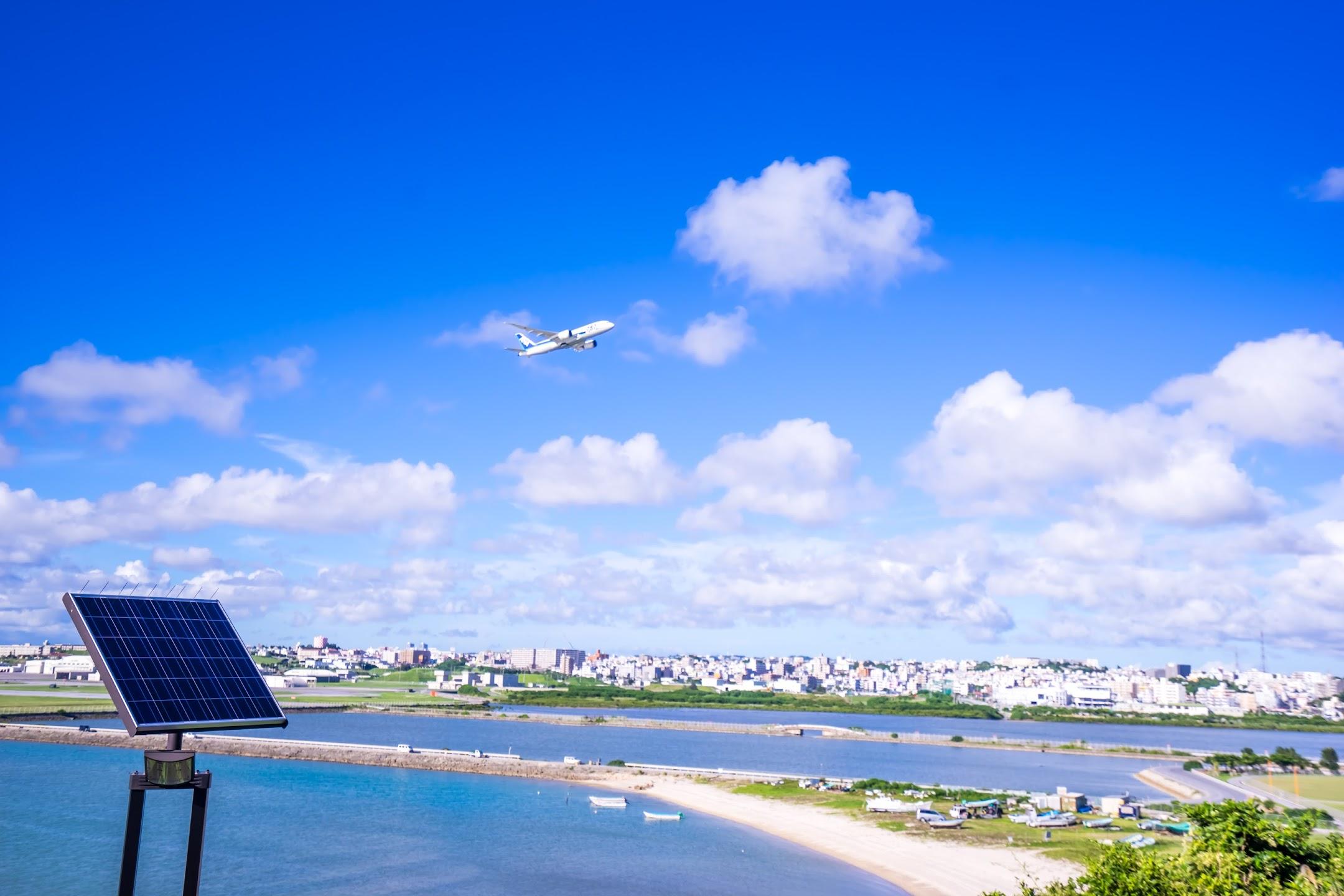 沖縄 瀬長島 飛行機5