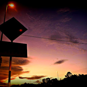 Road Sign. by Awang Kassim - Landscapes Travel ( pwcroadsigns )