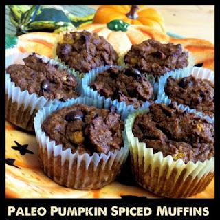 Paleo Pumpkin Spiced Muffins