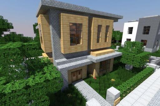 Modern House For Minecraft Apk apps 3