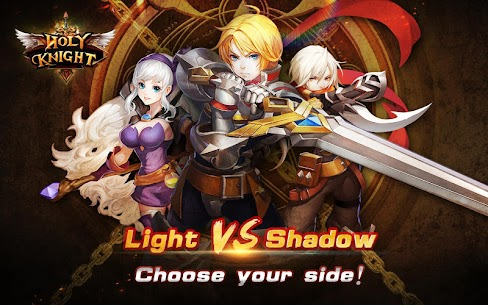 Holy Knight MOD 1.1.600 (God Mode/Massive Dmg/Weak Enemies) Apk 1
