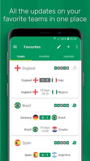 FotMob - Live Soccer Scores 87.0.5647.20181031 screenshots 4