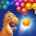 Bubble Shooter: Primitive Dinosaurs - Egg Shoot icon