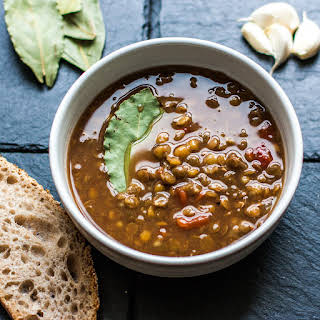 TRADITIONAL LENTIL SOUP.