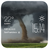 Tornado Weather weather widget