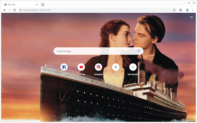 New Tab - Titanic