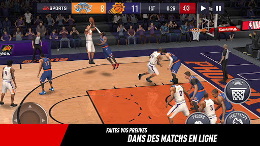 NBA LIVE Mobile Basket-ball  captures d'écran 4