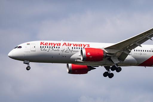 Kenya Airways' Fleet In 2021
