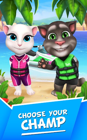 Talking Tom Jetski 1.0.1 screenshot 134292