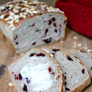 Cranberry Honey Oat Bread.