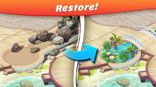 Tropical Forest: Match 3 Story screenshots 1