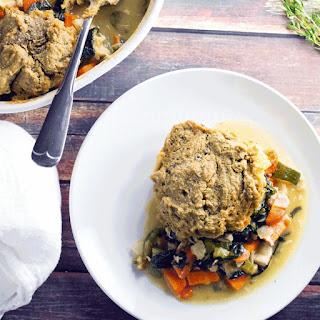 Rosemary Sea Salt Oat Drop Biscuit Chicken Pot Pie - Gluten Free