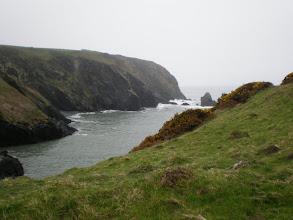 Photo: From Abercastle to Goodwick-Fishguard (Pwllstrodur)