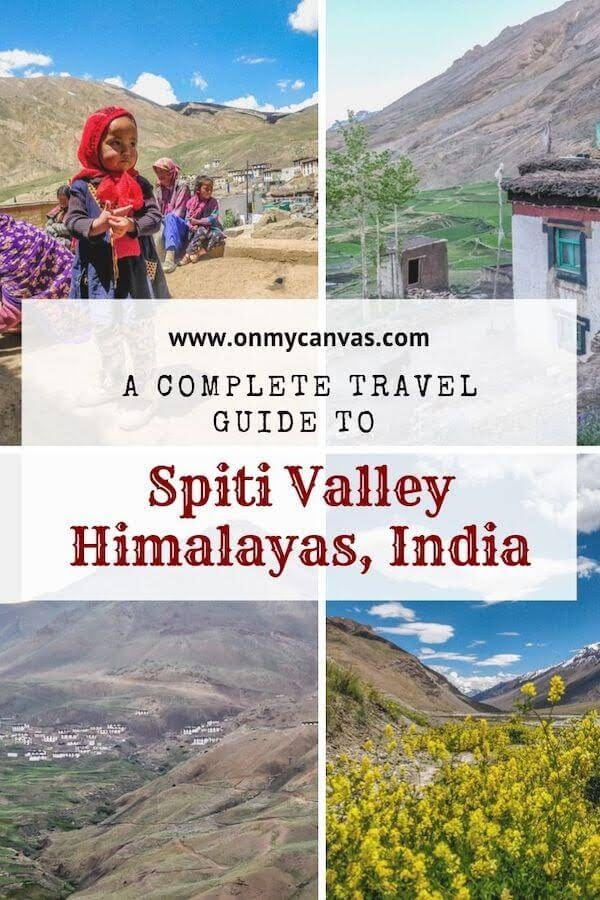 spiti valley travel blog pinterest