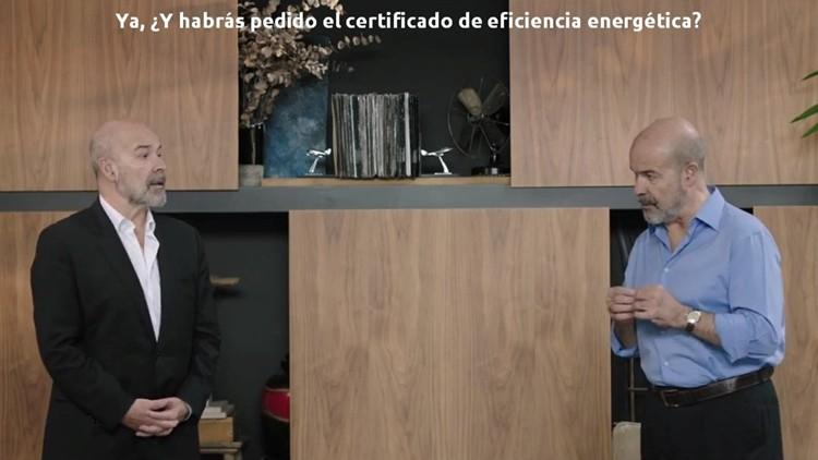 anuncio televisión certificado eficiencia energetica antonio resines