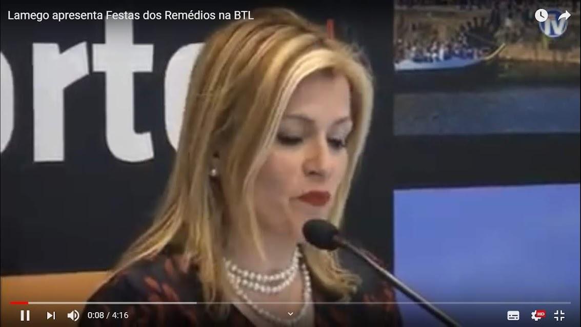 Vídeo - Lamego apresenta Festas dos Remédios na BTL