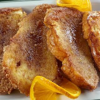 Orange French Toast.
