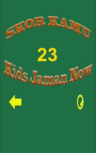 Kuis Kids Jaman Now - náhled