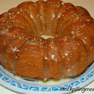 Pumpkin Spice Cake With A Twist.