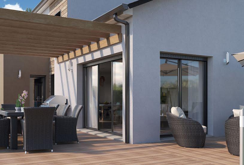 Vente Terrain + Maison - Terrain : 600m² - Maison : 144m² à Neuillé-Pont-Pierre (37360)