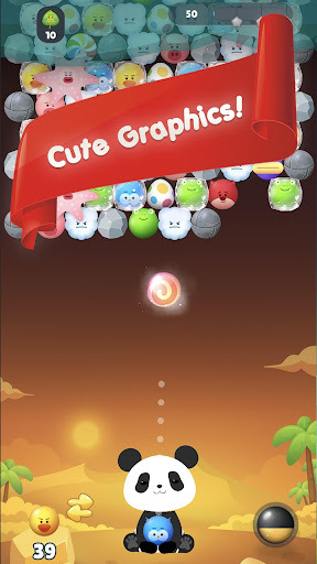 Panda Bubble Puzzle! - Bubble Shooter Screenshots 1