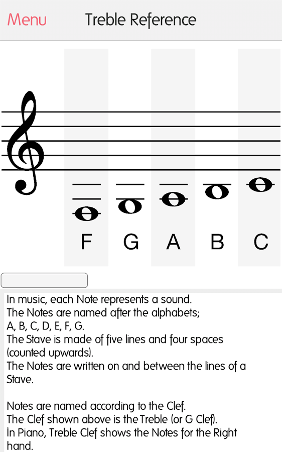 music tutor sight reading android apps on google play. Black Bedroom Furniture Sets. Home Design Ideas