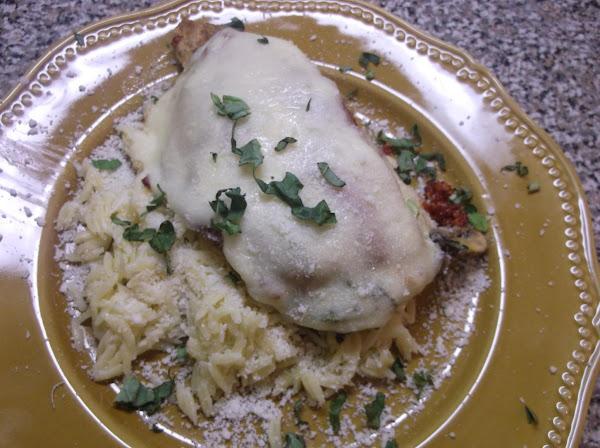 Chicken Milano With A Twist Recipe