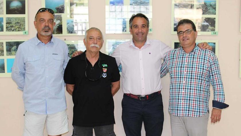 Los fondos marinos de Almería se ven en Feria