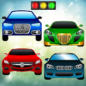 Cars Puzzle for Toddlers Games icon