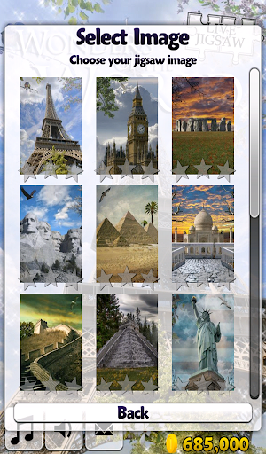 Live Jigsaws - World Wonders