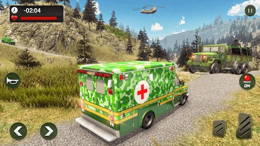 US Army Ambulance Driving Rescue Simulator 2020 1.2 screenshots 8